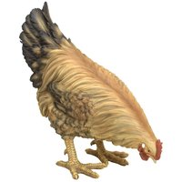 Custom Resin Life Sized Decorative Chicken Statue-Farm Animal Collectable Polyresin