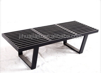classic backless wood bench/folding wood bench/stone bench wood