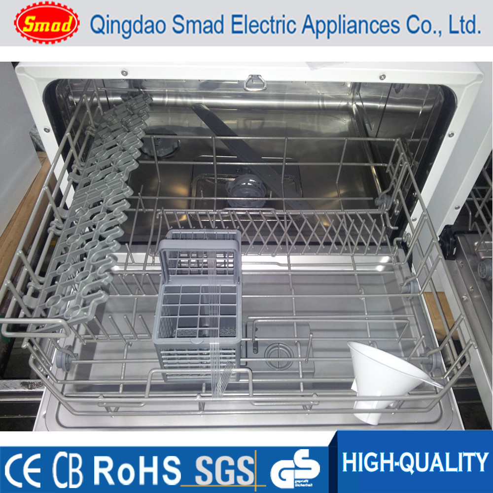 6 Sets mini dishwasher machine countertop dishwasher