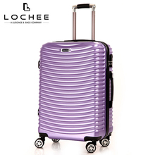 China Cheap Big Lot Wheeled Hand Carry Polycarbonate Luggage