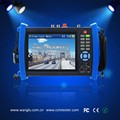 "16 hours long-time standby ip Camera tester built in WIFI 7"" touch screen monitor with HDMI output"