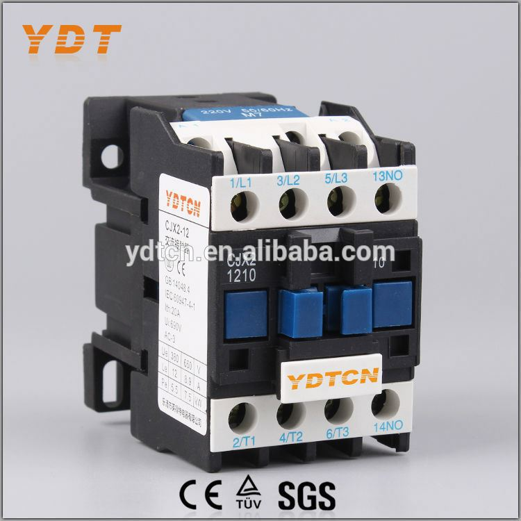 YDT electronic contactor, lc1 12a three-phase ac magnetic contactor, high grade meta mec ac contactor