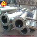 tapered tubular steel structures