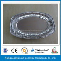Food Grade Hot Sale Recyclable Environmental Disposable Convenient Ovenable Paper Trays