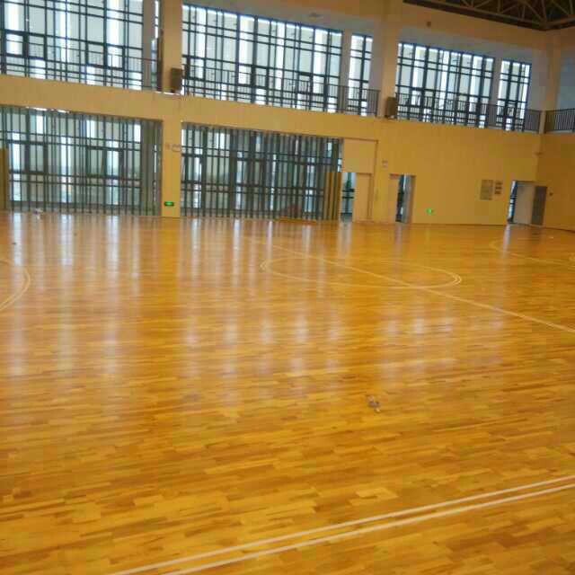 Anti-slip Sports Flooring indoor basketball wood flooring