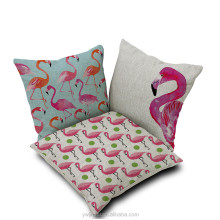 Soft Throw Pillow Case Massage Cotton Linen Swan Pillow Case Chairs 45X45CM Square Cushions