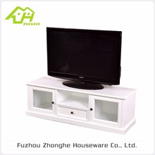 New Design Customized Top Quality MDF White Tv Stand