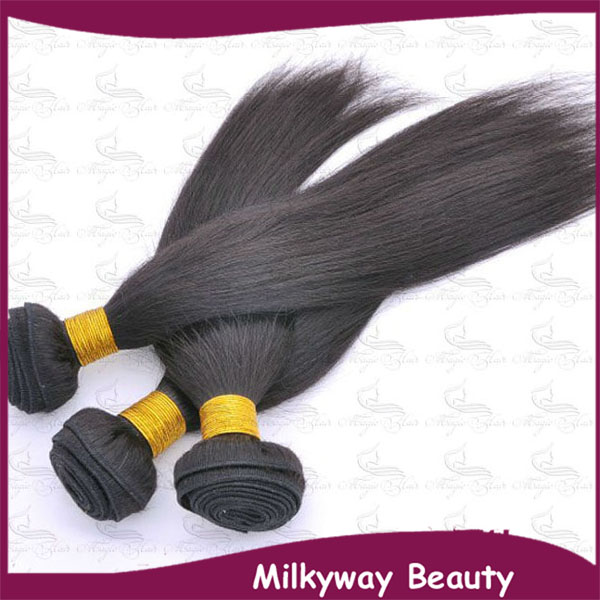 Milkyway Wholesale cheap Grade 5A straight original Double Wefted Track Hair Braid 100% Human virgin brazilian hair