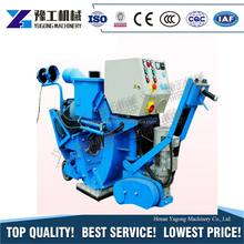 YG electric motor shot blasting machine working standard road shot blaster for personal use