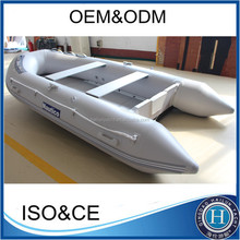 2.3M-7.3M inflatable best fishing boats with aluminum floor for sale