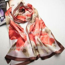 fashion women winter scarf silk tudung