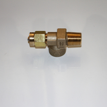 China supply safety brass gas inlet valve