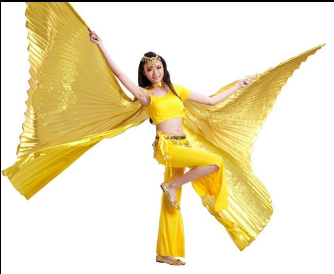 P-9073 New design opening adult belly dance isis wings