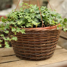 HOT 100% wicker baskets for plants wicker plant pots
