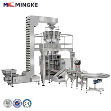 automatic vertical chips packing machine,multihead weigher packing machine