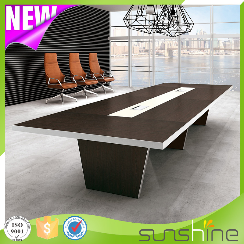 Modern Meeting Room Furniture 12 Seater Conference Table BS-H4815