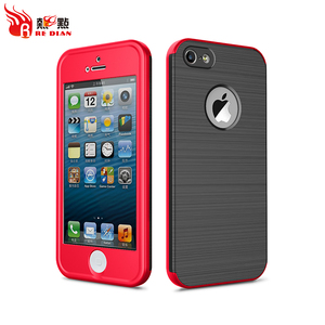 Redian custom super thin case for iphone 5,full protective with screen protector for iphone6 phone cases