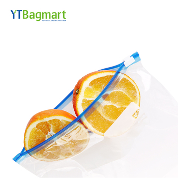 YTBagmart Custom Resealable PE Slider Ziplock Storage Bag for Fruit