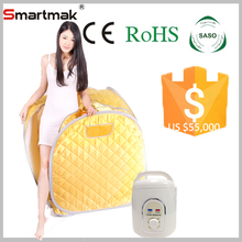 Factory 2015 Hot Sale Portable Home One Person Steam Sauna Generator