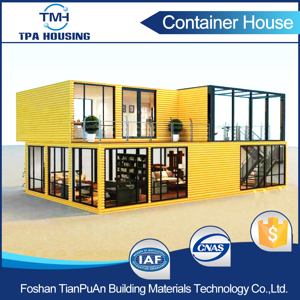 Factory Direct Price Prefabricated Prebuilt Container Home