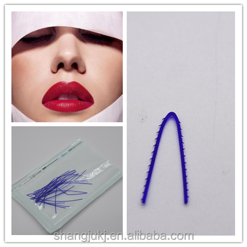 new products hot sell absorbable PDO thread nose lift
