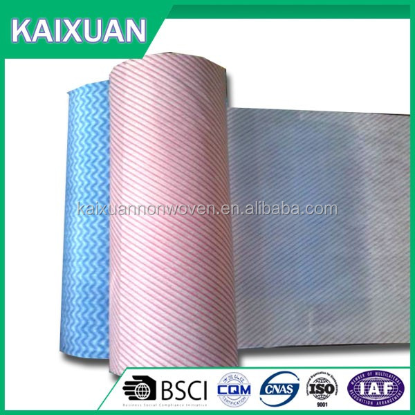 China manufacturing gum stay nonwoven interlining chemical bond nonwoven fabric