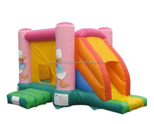 Classic design customized inflatable jump slide combos