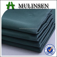 Mulinsen Textile Plain Dyed Duck Green 100% Polyester Woven High Quality Satin Fabric