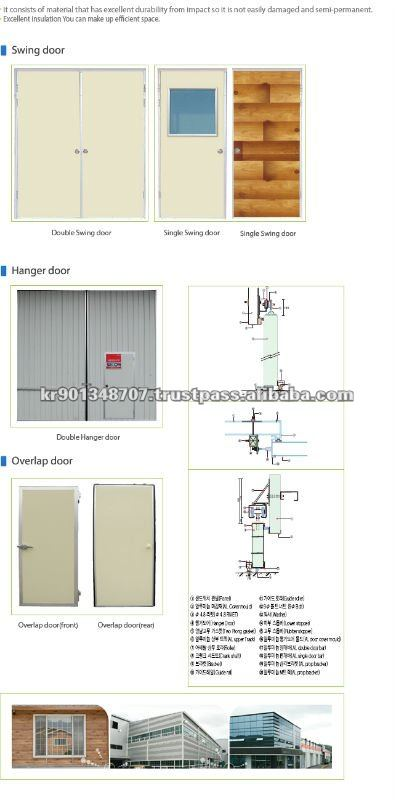 Swing Door / Hanger Door / Overlapped Door