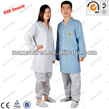 ESD Cotton Smock,ESD Smock Gown C0102