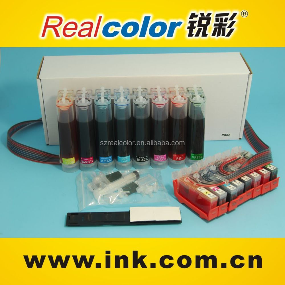 Ciss continuous ink supply system for Pro 9000 CLI-8R/BK/G/PM/PC/Y/C/M