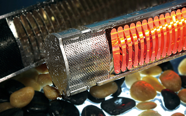 Waterproof IP65 Infrared patio heater