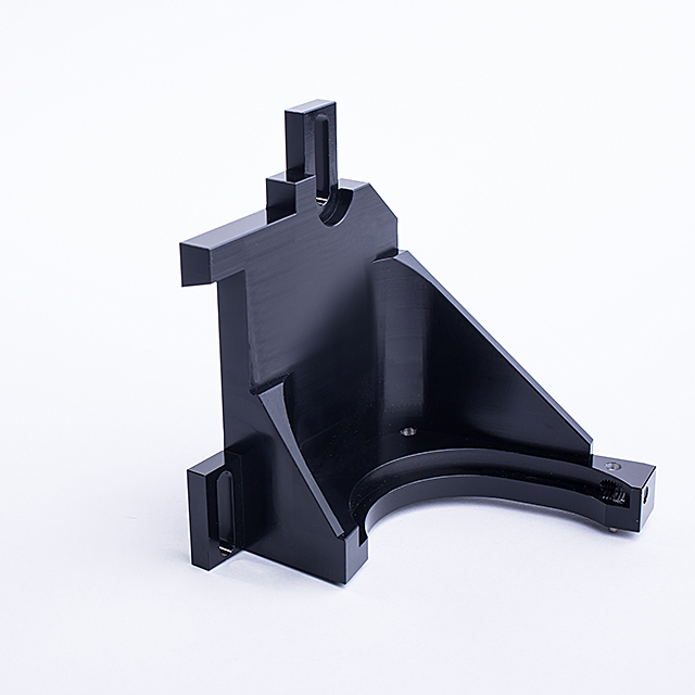 competitive price costomized OEM high precision aluminum product with black anodizing cnc machining part