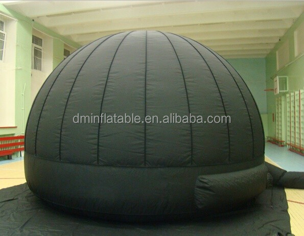 small inflatable clear dome tent for camping