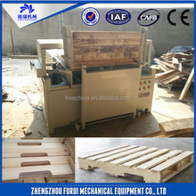 High efficiency compressed wood pallet groover making machine/wooden pallets keyway planer