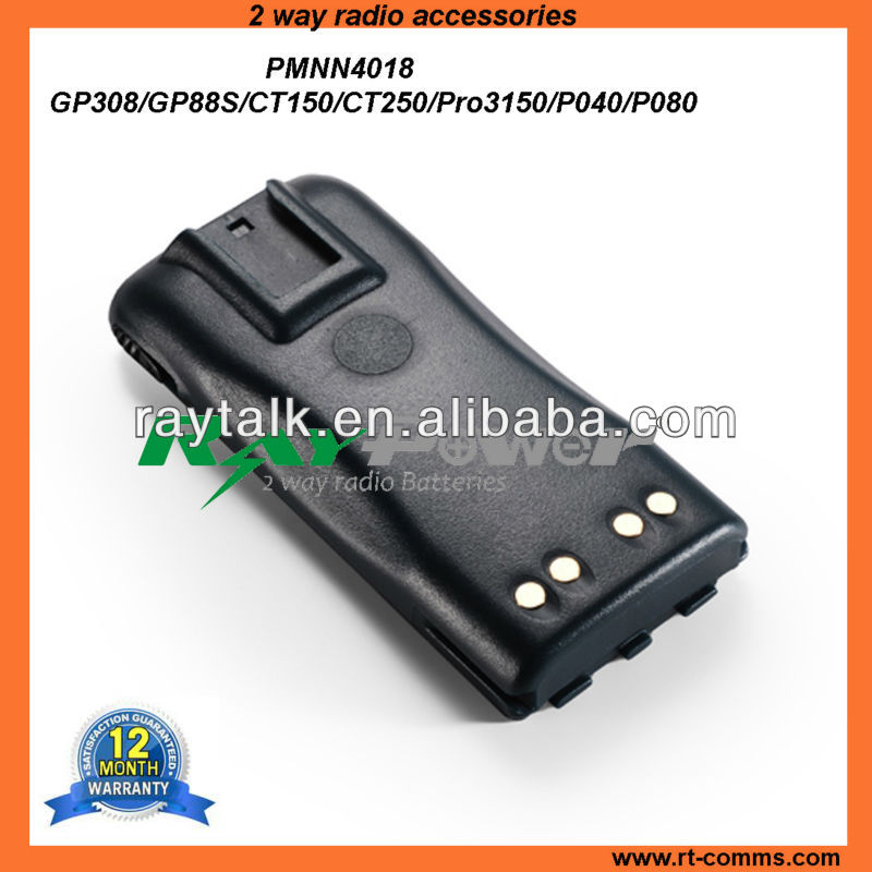 Walkie Talkie Battery for Motorola P040/P080 7.5V&1600mAh,Rechargeable Radio Battery Packs
