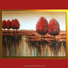 Modern tree oil painting images landscape
