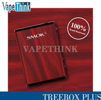 Newest Electronic Cigarette SMOK Treebox Plus 220w mod Rosewood Material SMOK Treebox Plus mod/Smok Tfv8 baby tank