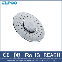 led music Shower head with speaker,wireless,music and phone shower bathroom accessories