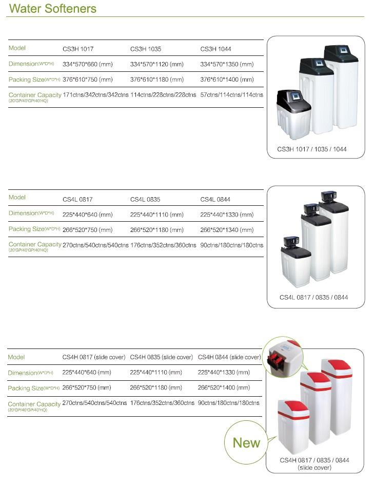 water softener pressure vessel