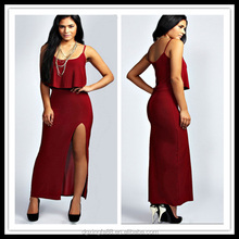 sexy-split-maxi-dresses Fashion Dresses For Middle Aged Women
