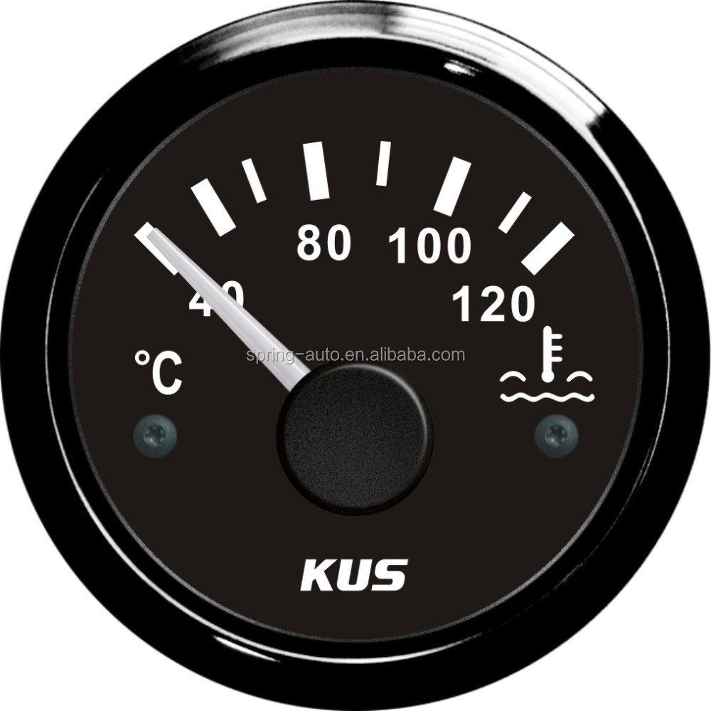 52mm water temp gauge meter with temp sensor (SV-KY14100)