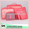 6 set Storage Bag Traveling Packing Cubes Clothes Underwear Organizer Storage Bag