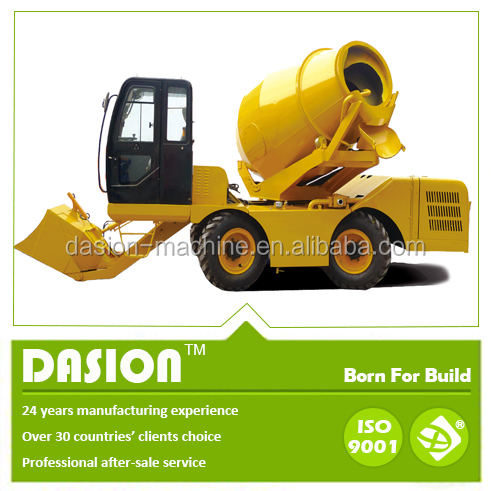 DS3.5 mercedes benz mobile self loading concrete mixer truck price