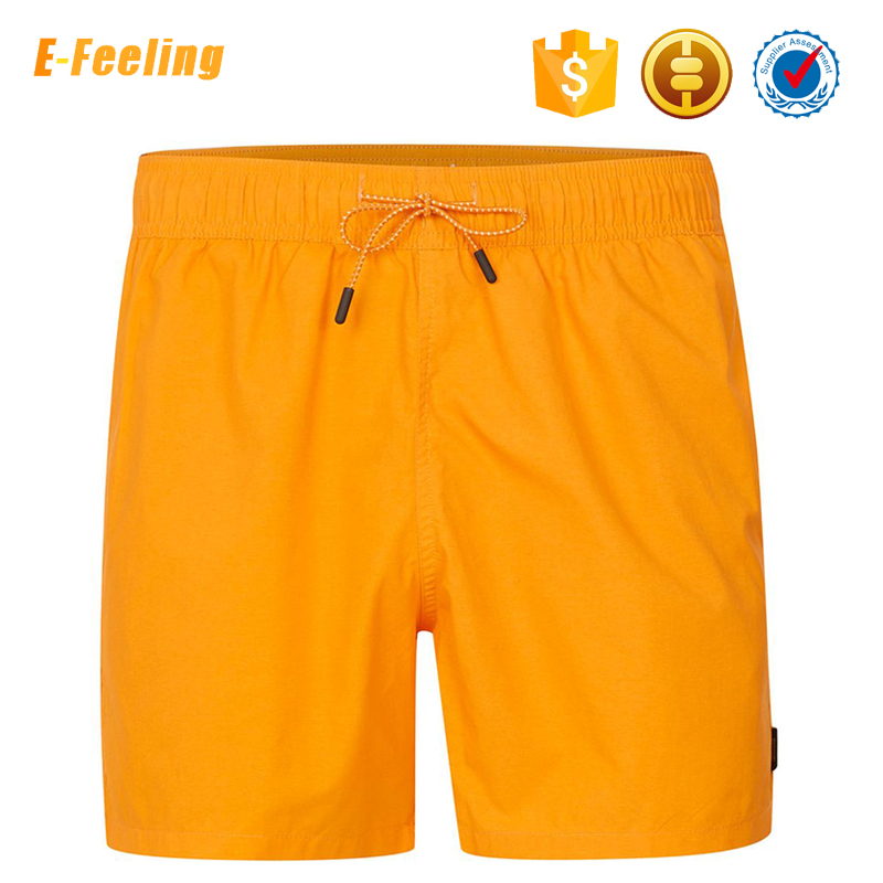 OEM Custom Design 100% Polyester Mens Running Shorts