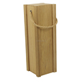 Trade Assurance Unfinished Wooden Wine Bottle Box