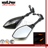 BJ-RM-016B LED universal motorcycle rearview mirror turn signal light