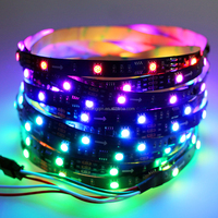 Dream colorful waterproof IP68 12V WS2811 LED strip