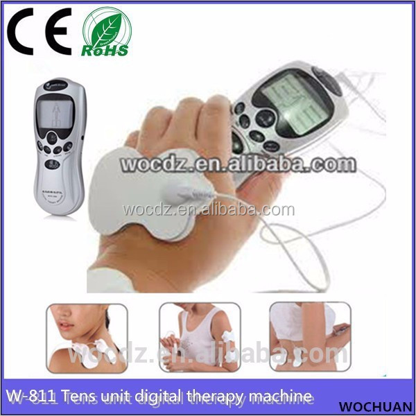 Tens Digital Acupuncture Therapy Machine Full Body Massager for Muscle Stimulation