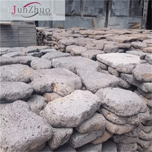 lava stone volcanic rock / landscaping paver lava stone grey color natural / lava grey
